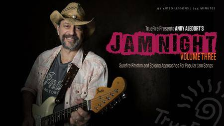 TrueFire - Jam Night Volume 3 with Andy Aledort (2015)