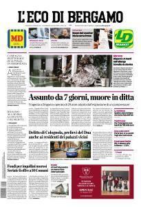 L'Eco di Bergamo - 20 Gennaio 2017