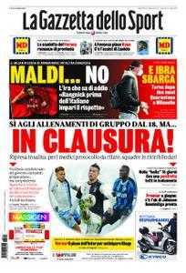 La Gazzetta dello Sport Roma – 12 maggio 2020