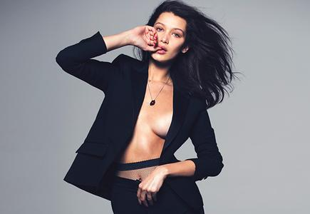 Bella Hadid by David Bellemere for ELLE US June 2015