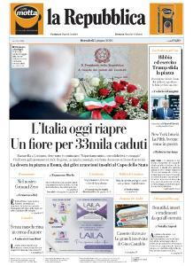 la Repubblica - 3 Giugno 2020