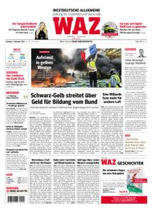WAZ Westdeutsche Allgemeine Zeitung Oberhausen-Sterkrade - 04. Dezember 2018