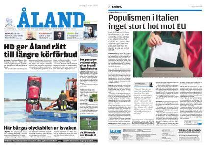 Ålandstidningen – 03 mars 2018