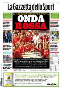 La Gazzetta dello Sport Roma – 23 settembre 2019