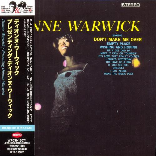 Dionne Warwick - Collection 1963-1977: 23 Albums Mini LP CD