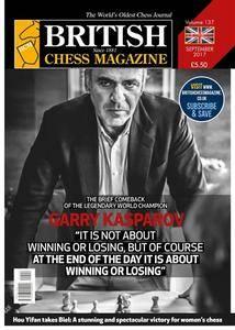 British Chess Magazine - September 2017