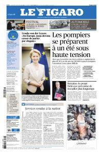 Le Figaro du Vendredi 19 Juillet 2019