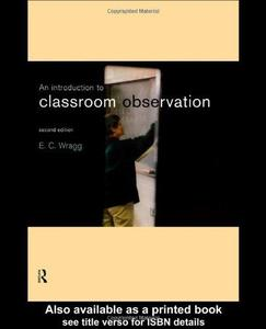 An Introduction to Classroom Observation (Repost)