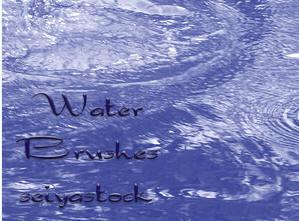 Water Brushes for Photoshop
