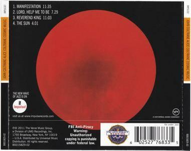 John Coltrane & Alice Coltrane - Cosmic Music (1966) {Impulse!-Verve Originals rel 2011}