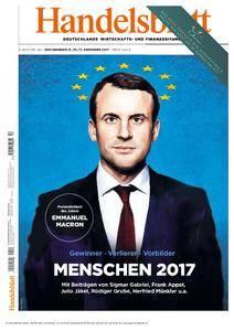 Handelsblatt - 15. Dezember 2017