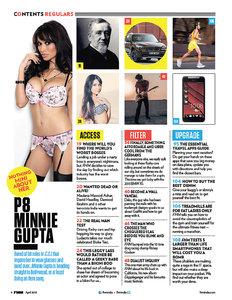 FHM India – April 2013 (Repost)
