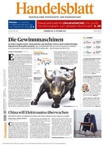 Handelsblatt - 13. Oktober 2016