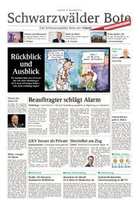 Schwarzwälder Bote Blumberg - 29. Dezember 2018