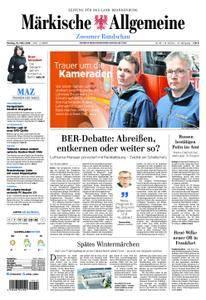 Märkische Allgemeine Zossener Rundschau - 19. März 2018