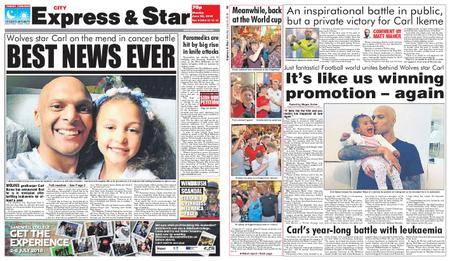 Express and Star City Edition – June 25, 2018