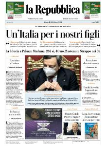 la Repubblica - 18 Febbraio 2021