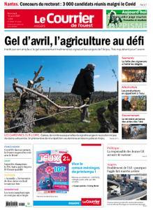 Le Courrier de l'Ouest Angers – 14 avril 2021