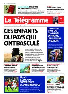 Le Télégramme Guingamp – 25 janvier 2020