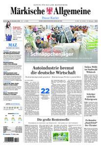 Märkische Allgemeine Dosse Kurier - 15. November 2018