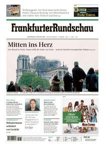 Frankfurter Rundschau Stadtausgabe - 17. April 2019