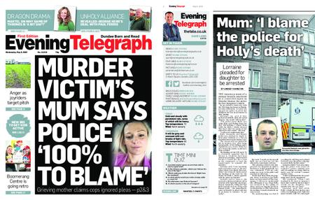 Evening Telegraph First Edition – May 08, 2019