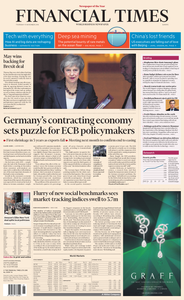 Financial Times Europe – 15 November 2018