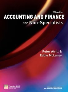 Accounting and Finance for Non-Specialists 5th Editon (repost)