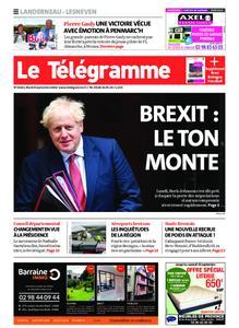 Le Télégramme Landerneau - Lesneven – 08 septembre 2020