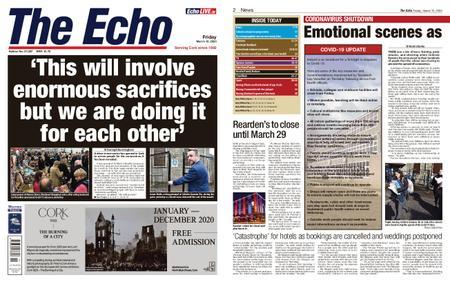 Evening Echo – March 13, 2020