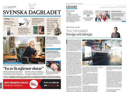 Svenska Dagbladet – 07 september 2019