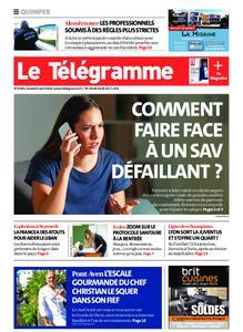Le Télégramme Quimper – 08 août 2020