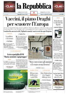 la Repubblica - 22 Marzo 2021