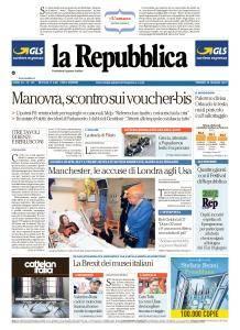 la Repubblica - 26 Maggio 2017