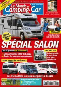 Le Monde du Camping-Car - octobre 2017
