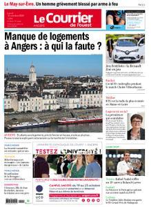 Le Courrier de l'Ouest Angers – 12 octobre 2020