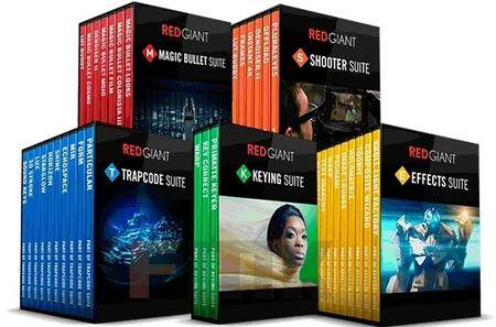 Red Giant Complete Suite 02.2017 (Win/Mac)