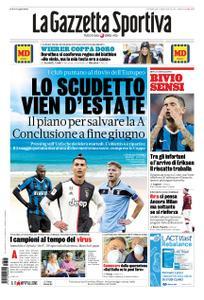 La Gazzetta dello Sport Roma – 15 marzo 2020