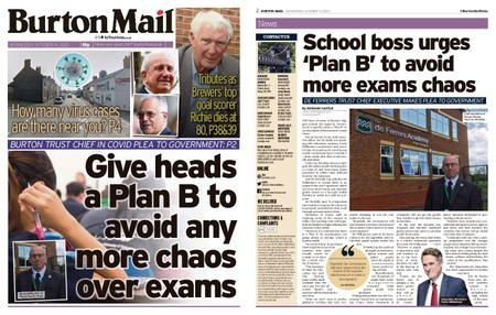 Burton Mail – October 14, 2020