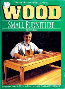 Wood Small Furniture You Can Make