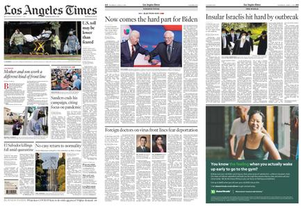 Los Angeles Times – April 09, 2020