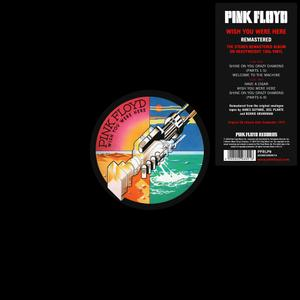 Pink Floyd - Wish You Were Here (1975) [2016, Remastered, Vinyl Rip 16/44 & mp3-320 + DVD]