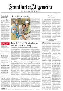 Frankfurter Allgemeine Zeitung - 16 September 2020