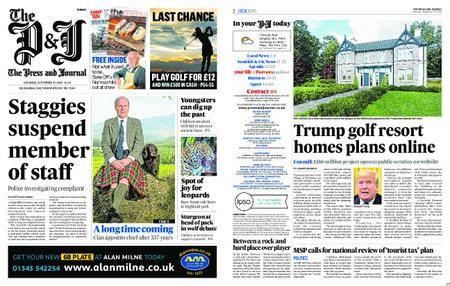 The Press and Journal Moray – September 15, 2018