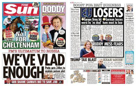 The Sun UK – 13 March 2018
