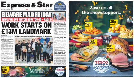 Express and Star City Edition – December 20, 2019