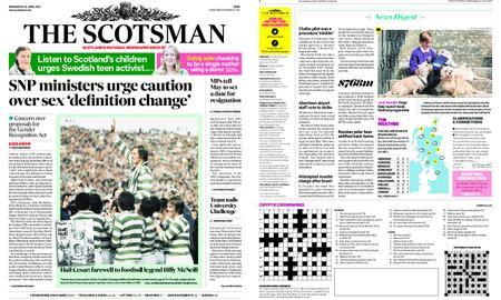 The Scotsman – April 24, 2019