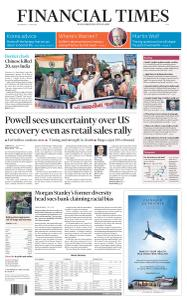 Financial Times Asia - June 17, 2020