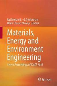 Materials, Energy and Environment Engineering (repost)