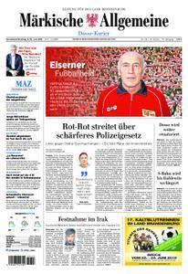 Märkische Allgemeine Dosse Kurier - 09. Juni 2018